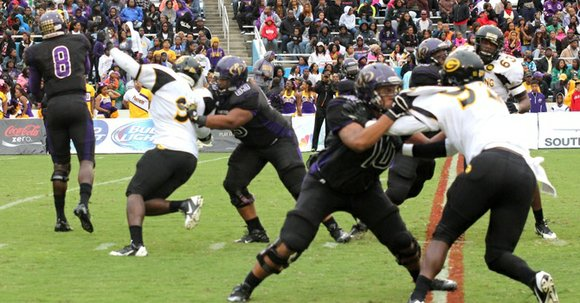 For the third straight year, the Prairie View A&M Panthers defeated the Grambling State Tigers in the annual Southwest Airlines ...