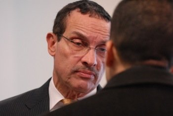 D.C. Mayor Vincent Gray has ordered the continuation of a citywide freeze on hiring and pay raises to rein in ...