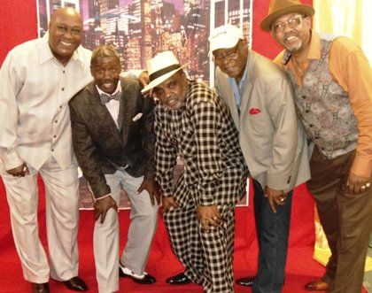 "The ""Gents on the Move"" members are AJ Miles, Herbert Schott, Jerry Chambers, Billy Jackson and Larry Winkler recently had a successful affair at their Fall Cabaret."