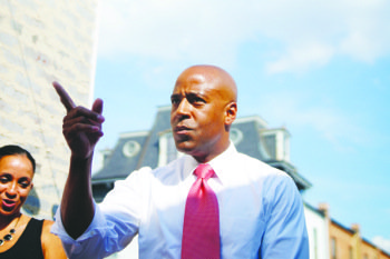 D.C. Council candidate Darrel Thompson hasn't hesitated to throw his weight around Capitol Hill during his bid for office — ...