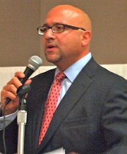 State Rep. Jeffrey Sanchez is soliciting community input on Gov. Deval Patricks gun control legislation.