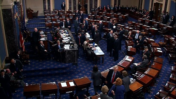 The House of Representatives late Wednesday night passed a Senate-brokered bill to fully reopen the government and raise the federal government's debt ceiling.