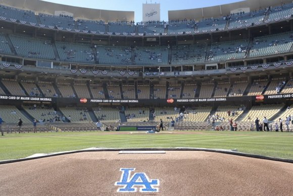 The Los Angeles Dodgers are scheduled to fly to St. Louis today and hope to return Saturday with their first ...