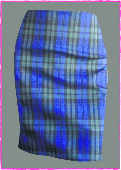 Mad-about-plaid skirts are the bottom line with biker-styled jacket, coat-sweaters and sweaters in general.