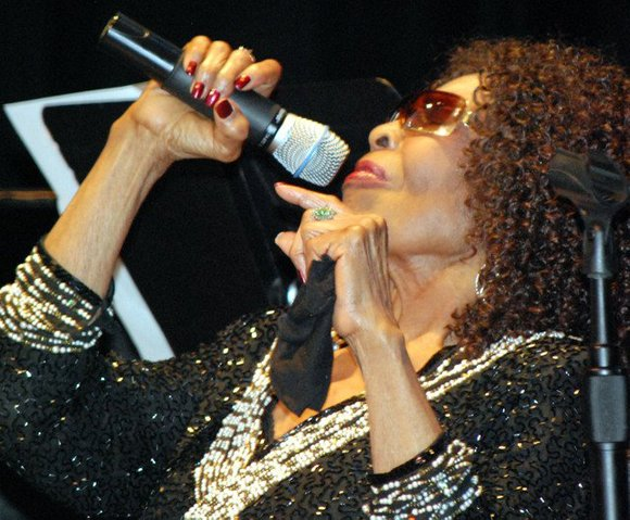 """Jazz vocalist Gloria Lynne, whose career included dozens of albums and whose signature song was """"I Wish You Love,"""" has ..."""