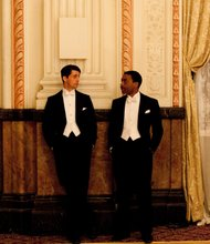 Matthew Goode as Stanley Mitchell and Chiwetel Ejifor as Louis Lester