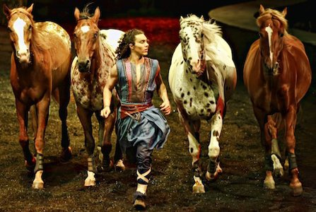 Cavalia's Odysseo, a $30 million production, opened on Wednesday, October  9 and runs through Sunday, October 27, at the Plateau at National Harbor in Prince George's County.