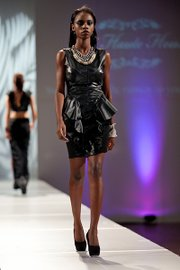 Rufus Dixon's designs featured in the Emerging Trends Fashion show during Boston Fashion Week.
