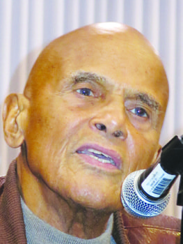 Noted African-American actor, singer, songwriter and activist Harry Belafonte told a crowd of more than 250 in Washington, D.C.'s Liaison ...