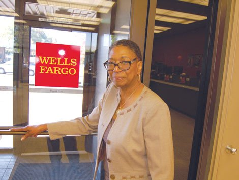 The community said goodbye to Laverne Hampton last week, who retired after a 49-year career at Wells Fargo bank in ...