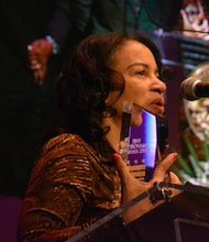 "Marta Reid Stewart, a teacher at the Duke Ellington School of the Arts, was honored with the ""Outstanding Contribution to Arts Education"" award in celebration of the arts in D.C."