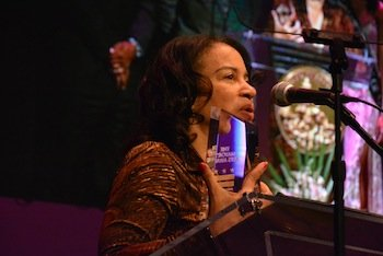 """Marta Reid Stewart, a teacher at the Duke Ellington School of the Arts, was honored with the """"Outstanding Contribution to Arts Education"""" award in celebration of the arts in D.C."""