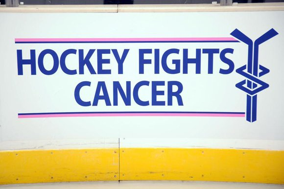 Hockey Fights Cancer Awareness Night, a monthlong league-wide initiative.