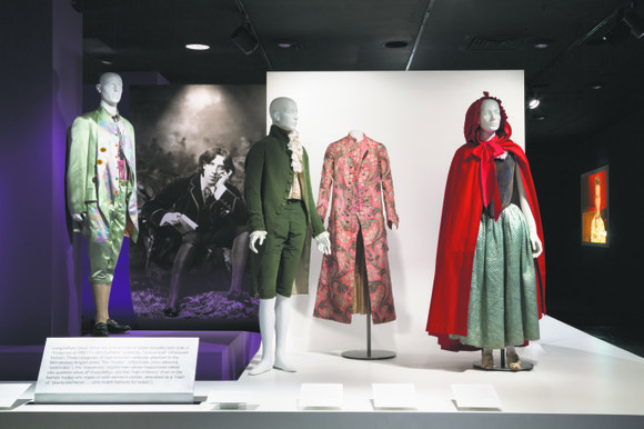 """A Queer History of Fashion: From the Closet to the Catwalk,"" now on view at the Museum at FIT, is ..."