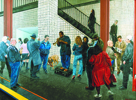 "John Varriano, ""Subway Jazz"", 2012"
