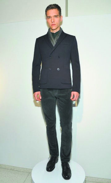 """""""Clothing should be quieter than the woman so that her beauty can shine through,"""" said Elie Tahari. For fall 2013, ..."""