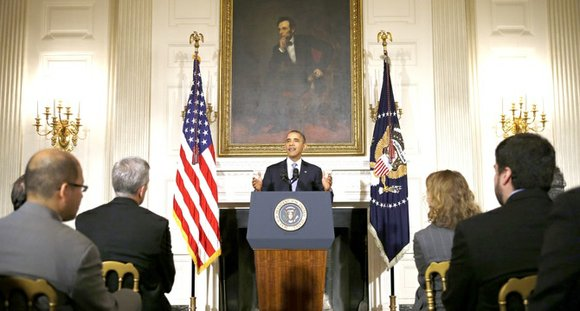 President Barack Obama signed a bill into law early in the morning on Oct. 16 that ended the 16-day government ...