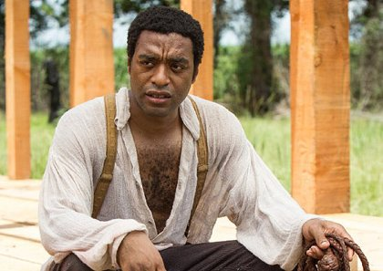 "British actor Chiwetel Ejiofor plays the role of Solomon Northup in the film ""12 Years A Slave,"" now showing in theaters across the country."
