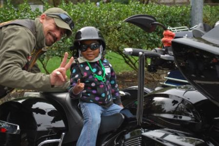 The roar of dozens of motorcycles could be heard Saturday afternoon as members of the Blue Knights –a group made ...