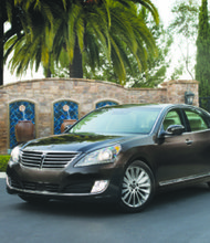 Though lacking in the brand cachet of German and Japanese luxury brands, the Hyundai Equus is still an excellent car and one that comes with service that cannot be topped. (Courtesy of Hyundai Motor America, Inc.)