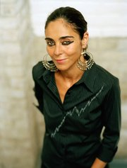 Work by Shirin Neshat (above) is on display at MFA Boston.