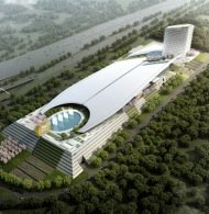 A rendering of the proposed MGM National Harbor Resort and Casino (Courtesy MGM National Harbor)