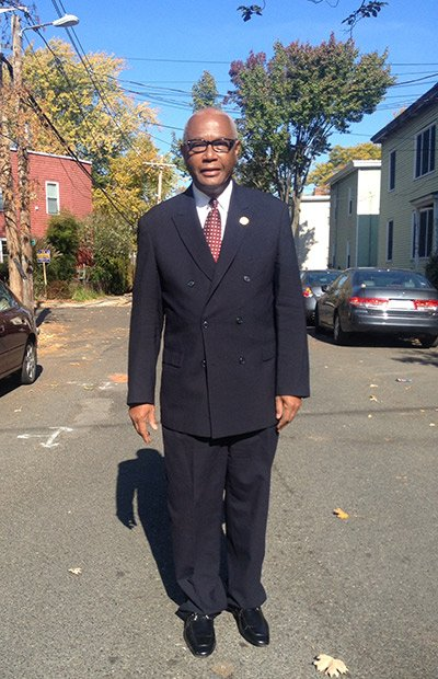 As Cambridge City Councilor Kenneth E. Reeves walks down treelined Howard Street in the heart of the historically black neighborhood ...