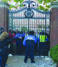 MPD officers responded during a violent outbreak at YardFest on the campus of Howard University on Friday, Oct. 25.