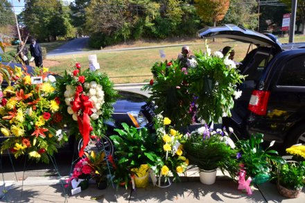 Nearly 900 family and friends attended the homegoing services for Sheila Stewart on Oct. 30 in Charlotte, N.C. Stewart, a longtime radio personality in D.C., was killed Oct. 24 in an automobile accident in Atlanta. (Paul Williams/Paul-3 Photography)