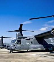 In a sign of a potentially expanded role for U.S. special forces in Africa, the Pentagon is considering sending V-22 Osprey aircraft to a base in Uganda for American and African forces to use in assaults on The Lord's Resistance Army, a messianic group led by Joseph Kony, a warlord African forces are trying to capture with the help of the United States.