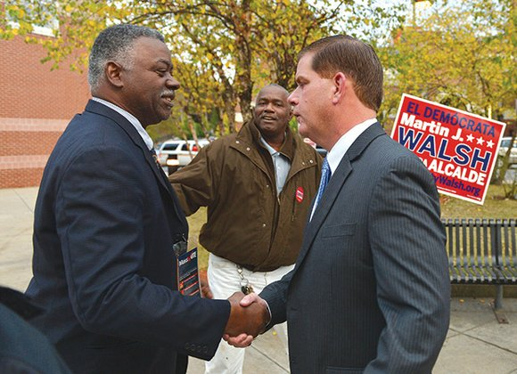The mad dash that's taken Boston mayoral candidates John Connolly and Marty Walsh to seemingly every corner of the city ...