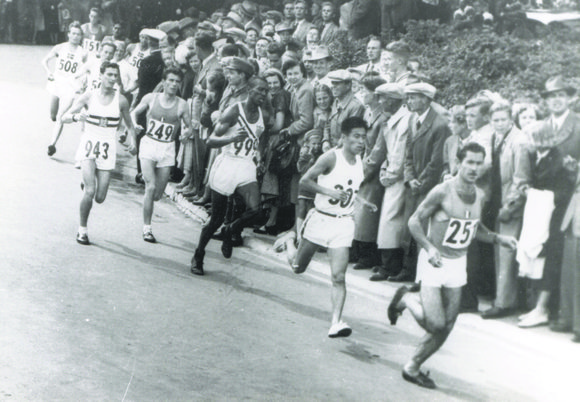 In 1952 in Helsinki, Corbitt became the first African-American to represent the U.S. in the Olympic Marathon