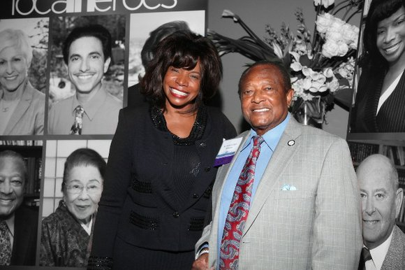 Two extraordinary African Americans honored, Angeles Echols-Brown and Richard Allen Williams, MD, FACC, FAHA