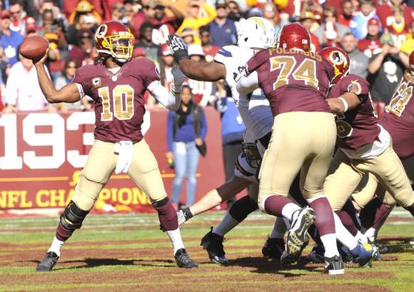 In what many considered a must-win game, the Washington Redskins defeated the San Diego Chargers, 30-24 in front of 80,115 ...
