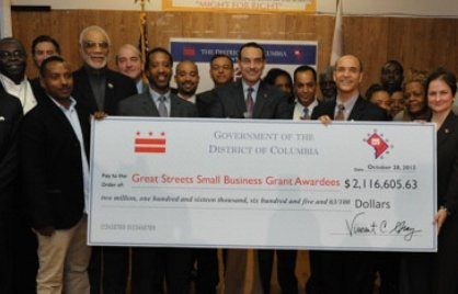 D.C. Mayor Vincent C. Gray on Sunday lauded the success of the city's program to revitalize distressed retail corridors and ...