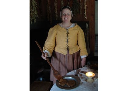 On Saturday, November 9, 2013, pull into the slow-food lane and experience an evening in the 17th century.