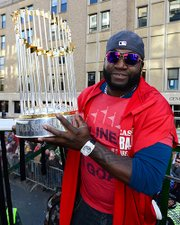 David Ortiz was named most valuable player for the 2013 World Series.