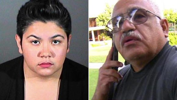 Vanessa Marie Yanez and LAPD Sgt. Arturo Yanez
