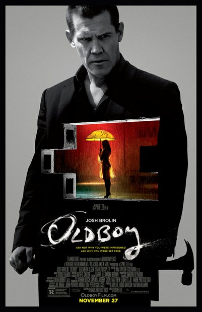 """Oldboy"" is directed by Spike Lee and stars Josh Brolin and Samuel L. Jackson."