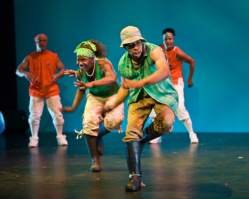 Step Afrika! will showcase its stepping style of dance with three nights of performances from Nov. 7 to Nov. 9 at Emerson College's Cutler Majestic Theatre. The professional dance company was formed in 1994 in Washington, D.C. (Photos courtesy of The Napolean Complex Project)