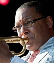 Wynton Marsalis performed in Boston recently at Symphony Hall.