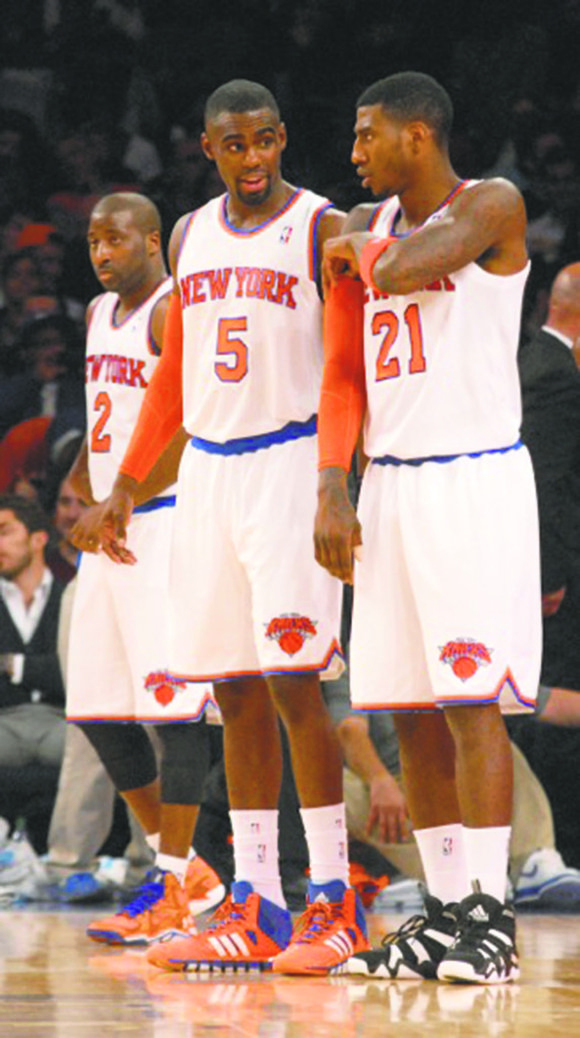 the Knicks certainly should be concerned by their 1-3 start