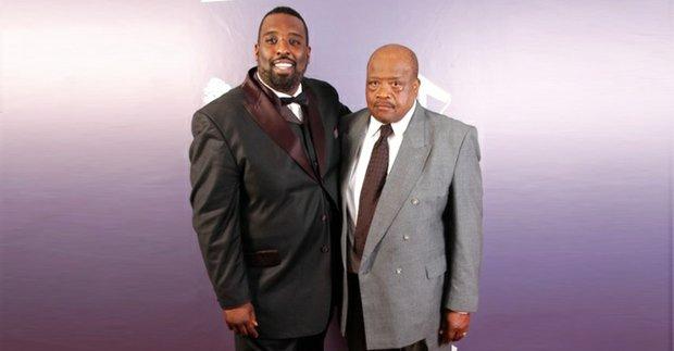 Desmond Pringle and his father, Bishop Lavern Pringle Sr.