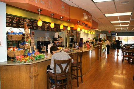 The new Annapolis Y features a cafe stocked with healthy options.