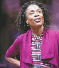 """Charlayne Woodard, star of the solo play """"The Night Watcher,"""" captivates audiences at Studio Theatre in Northwest. The play runs through Sunday, Nov. 17."""
