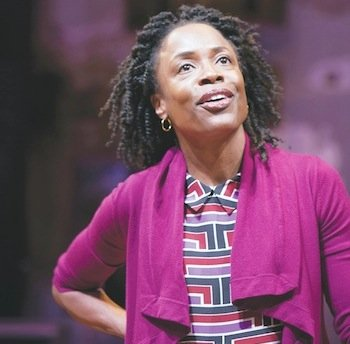 Armed with a chair, a beautiful, disarming smile and almost otherworldly energy, actress, singer and playwright Charlayne Woodard took a ...