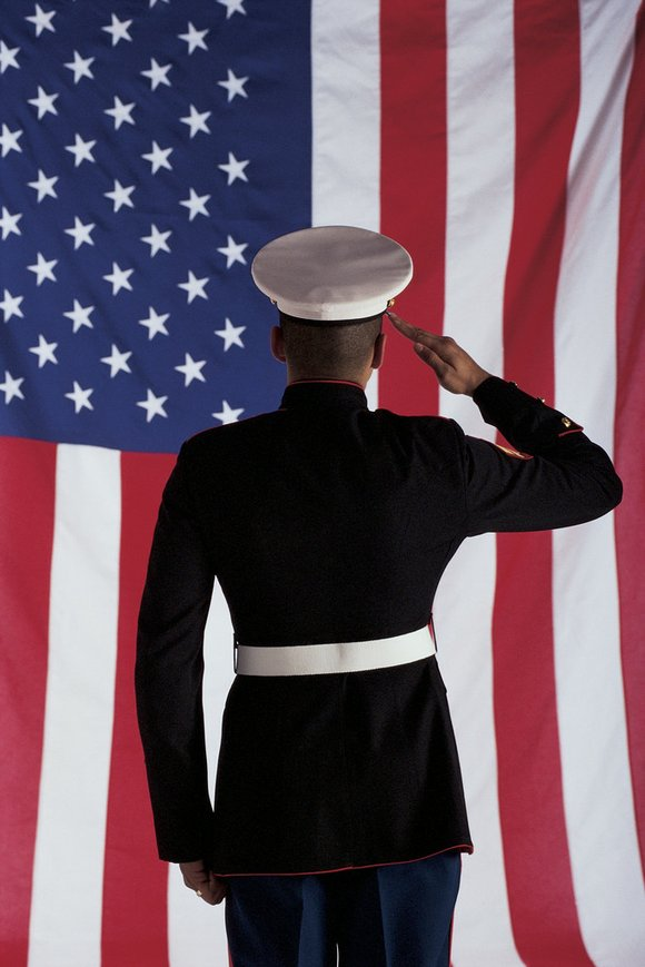 Suddenly, Patrick Caruso's days as a Marine were done. Like many young men and women who've served their country, Caruso's ...