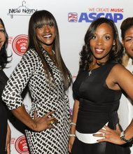 Jeanine McLean, Tina Davis, Nicole George-Middleton and Stacy Barthe (left to right)