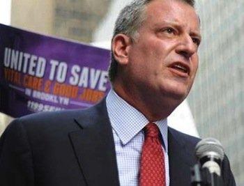 New York City Mayor-elect Bill De Blasio (Courtesy of billdeblasio.com)