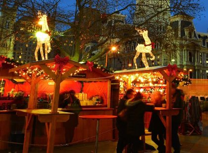 A traditional European Christmas market comes to Baltimore's Inner Harbor this holiday season.